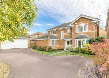 Thumbnail 4 bed detached house for sale in Balland Way, Wootton, Northampton, Northamptonshire