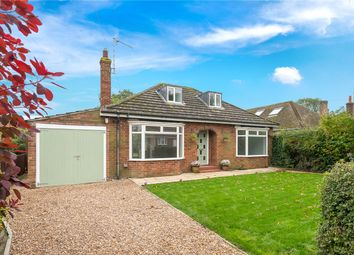 Thumbnail 3 bedroom detached bungalow for sale in Burton Road, Heckington, Sleaford, Lincolnshire