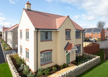 "Thumbnail 4 bed property for sale in ""Welwyn"" at Muntjac Road, Langford, Bristol"