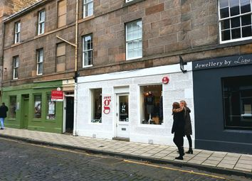 Thumbnail Retail premises for sale in William Street, Edinburgh