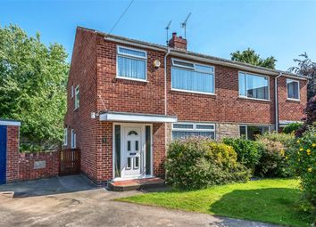 Thumbnail 3 bed semi-detached house for sale in Lynden Way, York