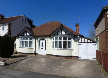 Thumbnail 2 bed bungalow to rent in Oaklands Avenue, Littleover, Derby