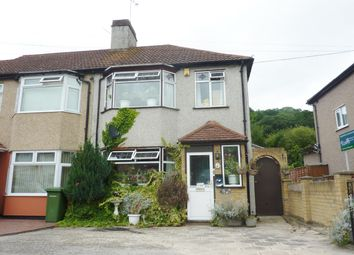 Thumbnail 3 bed semi-detached house to rent in Woodbrookroad, Abbeywood, London