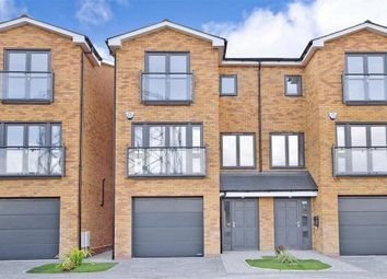 Thumbnail 4 bed town house for sale in Pier Road, Gillingham, Kent