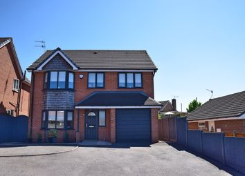 Thumbnail 4 bed detached house for sale in Northgate Close, Hanford, Stoke-On-Trent