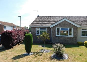 Thumbnail 2 bed semi-detached bungalow for sale in Purcell Road, Stowmarket