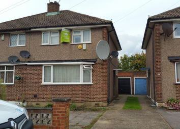 Thumbnail 3 bed semi-detached house for sale in Jervis Avenue, Enfield