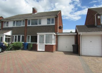 Thumbnail 3 bed semi-detached house to rent in Caradoc, Tamworth