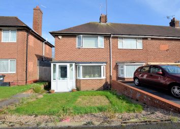 Thumbnail 3 bed end terrace house for sale in Overdale Road, Quinton, Birmingham