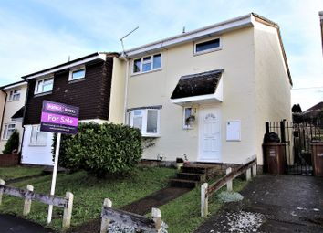 Thumbnail 3 bed end terrace house for sale in Defiant Close, Walderslade