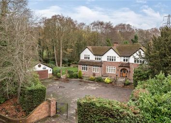 Thumbnail 6 bed detached house for sale in Wokingham Road, Sandhurst, Berkshire
