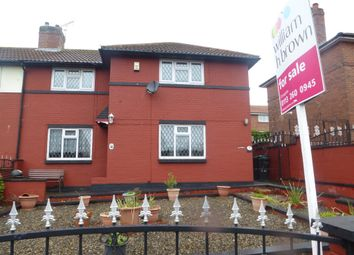 Thumbnail 3 bedroom end terrace house for sale in Selby Avenue, Leeds