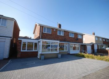 Thumbnail 4 bed semi-detached house for sale in Wansbeck Avenue, Choppington