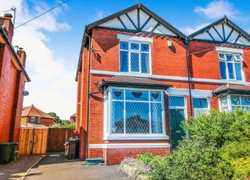 Thumbnail 3 bed semi-detached house for sale in Bury & Bolton Road, Radcliffe, Manchester