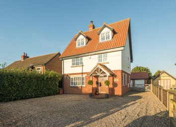 Thumbnail 4 bed detached house for sale in Lopham Road, East Harling, Norwich