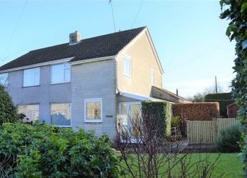 Thumbnail 3 bed semi-detached house for sale in Fosse Road, Stratton-On-The-Fosse, Radstock