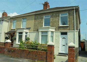 Thumbnail 3 bed semi-detached house for sale in Tynybonau Road, Swansea