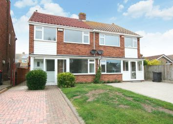 Thumbnail 3 bed semi-detached house for sale in Long Reach Close, Seasalter, Whitstable