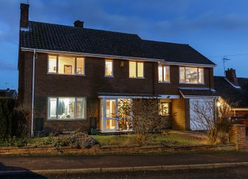 Thumbnail 4 bed detached house for sale in Birkland Drive, Edwinstowe, Mansfield