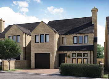 Thumbnail 4 bedroom detached house for sale in The Kauto, Mill Moor Road, Meltham, Holmfirth, West Yorkshire