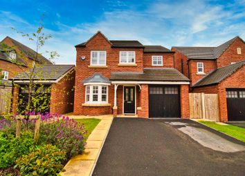 Thumbnail 3 bed detached house for sale in Butterworth Road, Northwich