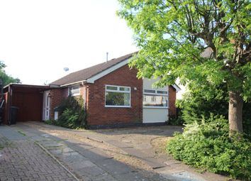 Thumbnail 2 bed detached bungalow to rent in Aylestone Drive, Aylestone, Leicester