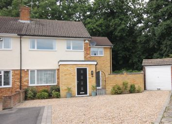 Thumbnail 4 bed semi-detached house for sale in Highfield Path, Farnborough