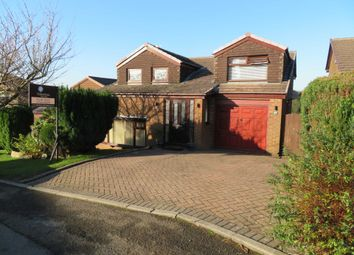 Thumbnail 4 bed detached house for sale in Castlemere Drive, Shaw, Oldham