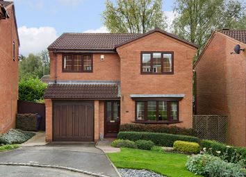Thumbnail 4 bed detached house for sale in Stone Pine Close, Hednesford, Cannock