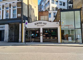 Thumbnail Restaurant/cafe to let in 12-14 St John Street, London