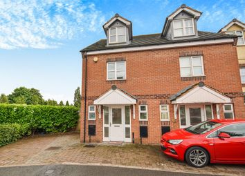 Thumbnail 3 bedroom end terrace house for sale in Manorhouse Close, Walsall