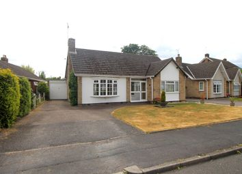 Thumbnail 2 bed detached bungalow for sale in Holme Drive, Oadby, Leicester