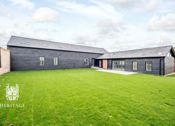Thumbnail 5 bed barn conversion for sale in Jenkins Farm, Kings Lane, Stisted, Essex