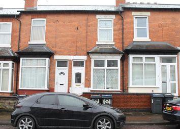 Thumbnail 2 bed terraced house for sale in Farnham Road, Handsworth, Birmingham