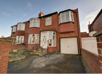 Thumbnail 4 bedroom semi-detached house for sale in Lemington Gardens, Fenham, Newcastle Upon Tyne