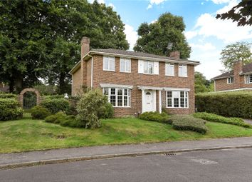 Thumbnail 5 bed detached house for sale in Amberwood Drive, Camberley, Surrey