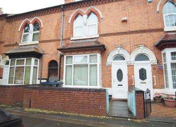 Thumbnail 3 bed terraced house for sale in Montague Road, Handsworth, Birmingham