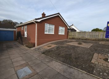 Thumbnail 2 bed detached bungalow for sale in Summerhill Gardens, Market Drayton