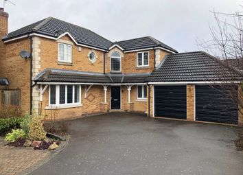 Thumbnail 4 bed detached house for sale in Wagtail Close, Fleckney, Leicester