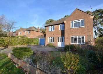 Thumbnail 3 bed detached house for sale in Longdown, Church Crookham, Fleet