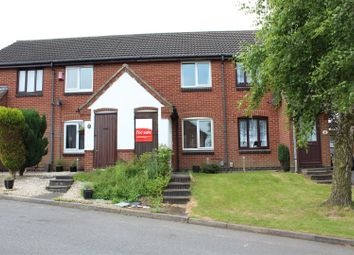 Thumbnail 1 bed town house for sale in Quelch Close, Hugglescote, Coalville