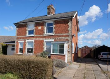 Thumbnail 3 bed semi-detached house for sale in Bergholt Road, Brantham, Manningtree