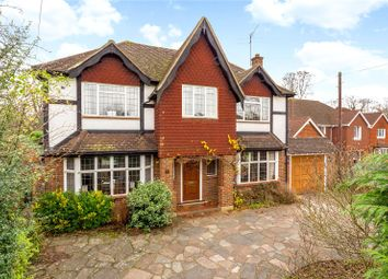 Thumbnail 4 bed detached house for sale in Ewell Downs Road, Epsom, Surrey