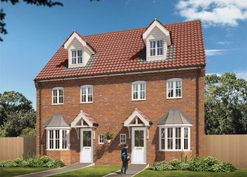 "Thumbnail 4 bed semi-detached house for sale in ""The Leicester "" at Carsons Drive, Great Cornard, Sudbury"