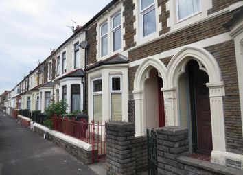 Thumbnail 3 bed property to rent in Penhevad Street, Cardiff