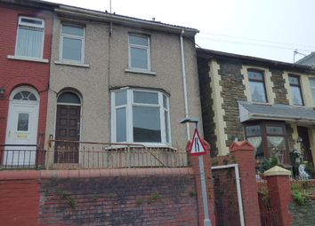Thumbnail 3 bed end terrace house for sale in King Edward Street, Blaengarw, Bridgend