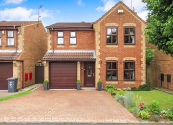Thumbnail 4 bed detached house for sale in Paget Close, Penkridge, Stafford