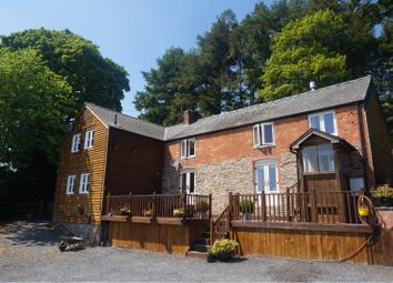 Thumbnail 5 bed detached house for sale in Castle Caereinion, Welshpool
