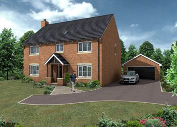 Thumbnail 4 bed detached house for sale in Hollinwood, Whixall, Whitchurch