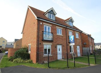 Thumbnail 4 bedroom semi-detached house to rent in Bunting Lane, Portishead, Bristol